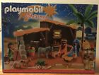 PLAYMOBIL 5588 Christmas Nativity Manger with Stable New sealed in box OOP
