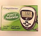 Weight Watchers Points PedometerTrack Activity Points Values Slim Design New