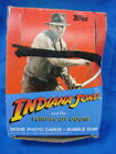 1984 Topps Indiana Jones And The Temple Of Doom BOX Of UNOPENED Cards Packs