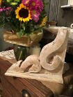 RUSTIC CORBEL/BRACKET Distressed White chunky Wood Corbel FARMHOUSE style