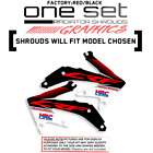 HONDA CRF 450R 450X 250R 150R 230F 110 125 RAD SHROUD GRAPHICS MX ISLAND DECALS
