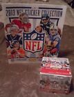 2013 Panini NFL Football 50-Pack Sticker Box Unopened with 72 Page Album