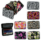 36 Pieces Assorted ID Credit Card Wallet Holder Aluminum Covered Pocket Case