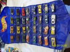 Hot Wheels Folding Plastic Storage Carrying Case with Various Mystery Model Cars