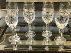 Gorham Lady Anne Crystal Wine Glasses  Water Goblets Set Of 4 Each