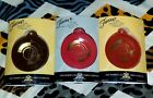 NEW FIESTAWARE CHRISTMAS ORNAMENTS MEMBERSHIP EXCLUSIVE LOT PAPRIKA SCARLET CHOC