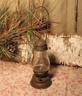 Antique 1800s Brass Skater's Lantern Lamp Skating
