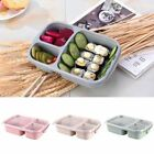 Bento Lunch Box 3 Grid Picnic Food Container Portable Meal Fruit Storage Box