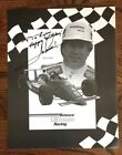 Mario Andretti, 8-1/2 X 11, Signed/Autographed Amoco Ultimate Racing Advertising