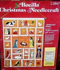 Bucilla CHRISTMAS NATIVITY ADVENT CALENDAR Felt Kit 2847 Sterilized