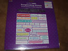 All Night Media clear Scrapbooking Stamps Attitudes emotions expressions