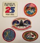 NASA PATCH LOT 5 Space Program  Shuttle STS Mission Patches Challenger +++