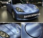 Metallic Pearl Satin Matte Chrome Vinyl Film For Car Vehicle Wrap Covering Foil