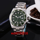 40mm Corgeut Emerald Green Dial SUB Sapphire Crystal Automatic Mens Watch