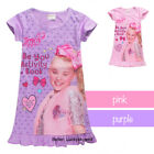 2019 Girls jojo siwa Pattern T Shirt Dress Nightwear Pyjamas Clothes Xma Gift