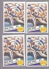 LOT OF 4 1985 TOPPS DWIGHT GOODEN RECORD BREAKER RC 401 ALL ARE IN NEAR MINT