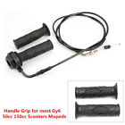 1 Pair Handle Grip Scooter Accessories for GY6 125-150CC Throttle Line Assembly