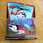 Disney PIXAR Cars TAKE FLIGHT RESCUE CHOPPER TOONS Moon Mater DELUXE diecast