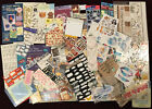 Huge Lot150 DYI Scrapbooking 80 Mixed Stickers  Embellishments Paper Crafts
