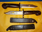 Used vintage AK-47 Complete Bayonet w/ Wire-Cutting Scabbard Bakelite handle