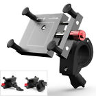 1x Adjustable CNC Motorcycle Rearview Mirror/Handlebar Mount Mobile Phone Holder
