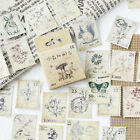 46 Sheets Set Vintage Paper Stickers DIY Scrapbooking Album Diary Craft Decor