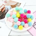 6pcs set Cute Hairball Rose Gold Cilp Modelling Paper Clip Office Stationery Set