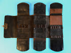 Antique ~100 yr old Leather Surgical Instrument Pocket Case Haussman
