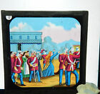 Victorian Glass Magic Lantern slide Military north West frontier a8  bx1 .