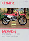 Clymer Honda XL/XR/TLR 125-200 (1979-2003) M318-4 Shop Service Repair Manual