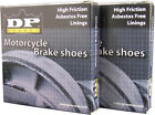 DP Brakes Kawasaki KDX200 KE175 KL250 Dunlopad Brake Shoes DP9143 Organic