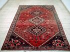 10X7 1940's AUTHENTIC HAND KNOTTED 70+YRS WORN DISTRESSED SHEERAAZZ ORIENTAL RUG