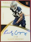 2015 PANINI IMMACULATE RANDY GREGORY RC AUTO FOOTBALL COWBOYS 15 25 SP ROOKIE
