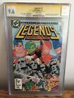 CGC DC Comics Legends 3 Signed by John Ostrander Graded 96