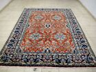 10X7 BREATHTAKING MASTERPIECE MINT 200+KPSI HAND KNOTTED ISFAHANN ORIENTAL RUG