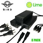 BIRD LIME Chargers 8 PACK Electric Scooter Battery Power Pack Charger US SELLER