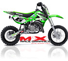 ALL YEARS / 02-18 KX 65 GRAPHICS KIT KAWASAKI KX65 DIRT BIKE MOTOCROSS DECALS
