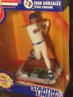 1993 Starting Lineup - Juan Gonzalez Stadium Star - MLB Rangers Texas Stadium