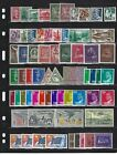 World Wide Collection 10 Pages Mint NH Complete Sets and Singles