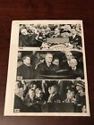 Vintage 1945 Press Photo of President Franklin Roosevelt's First 3 Inaugurations