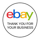 30 Ebay Thank You STICKERS Envelope Seals 15 ROUND