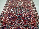 9X6 1940s GORGEOUS AUTHENTIC HAND KNOTTED 70+YRS ANTIQUE BAKHTIARII ORIENTAL RUG