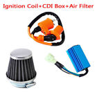 Racing AC CDI Box 6 Pin+Ignition Coil Air Filter For GY6 50-150cc Scooter Unique
