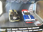 2010 GREENLIGHT ROAD RACERS DIORAMA '67 SHELBY MUSTANG & 72 AMC JAVELIN AMX 1:64