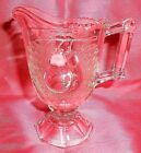 Clear Glass Creamer Free Shipping Vintage Jeannette Pear Themed
