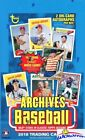 2018 Topps Archives Baseball MASSIVE Factory Sealed 24 Pack HOBBY Box-2 AUTOS