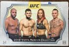IN STOCK 2018 Topps UFC Museum Collection Hobby Box 3 Big Hits Per Box!