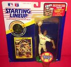 DAVE JUSTICE - 1991 Starting Lineup SLU with Coin in Original Packaging - Braves