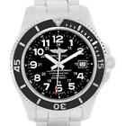 Breitling Superocean II Black Dial Steel Mens Watch A17365