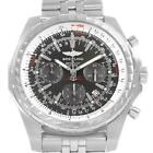 Breitling Bentley Motors T Grey Dial Chronograph Watch A25363 Box Papers